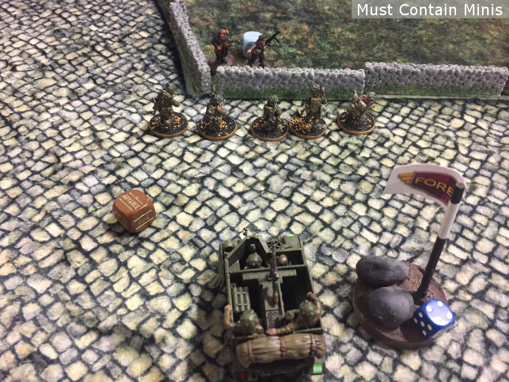 Utilizing a Carrier to its best possibility in Bolt Action (2nd Edition)