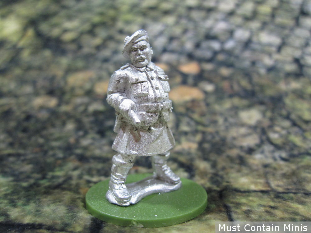 British Commander in a Kilt (WW2 28mm Miniature)
