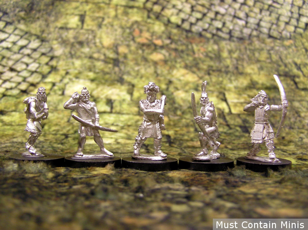 Huron Warriors - Miniatures of Pre-Contact Native Americans