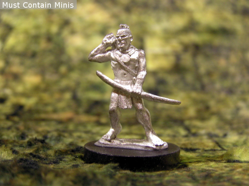 Huron Wendat Native American Miniatures for Wargaming - Pre-contact America