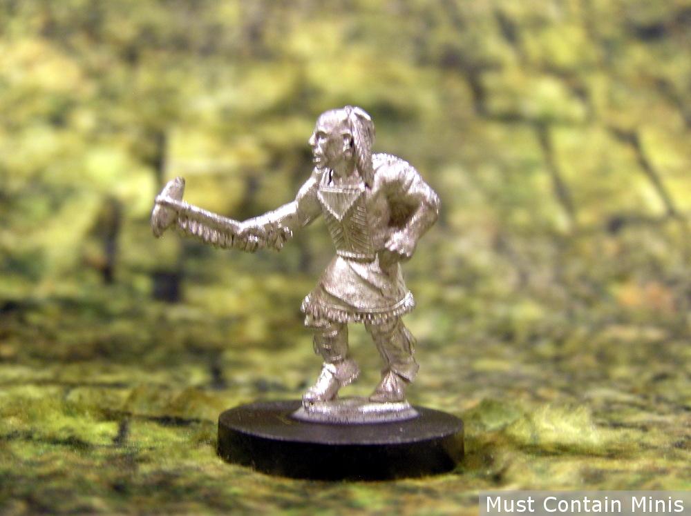 Huron Warrior Miniatures