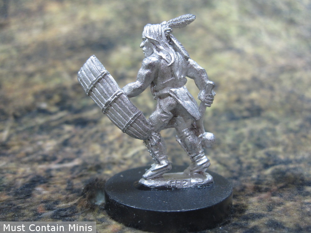 Iroquois leader 28mm miniature