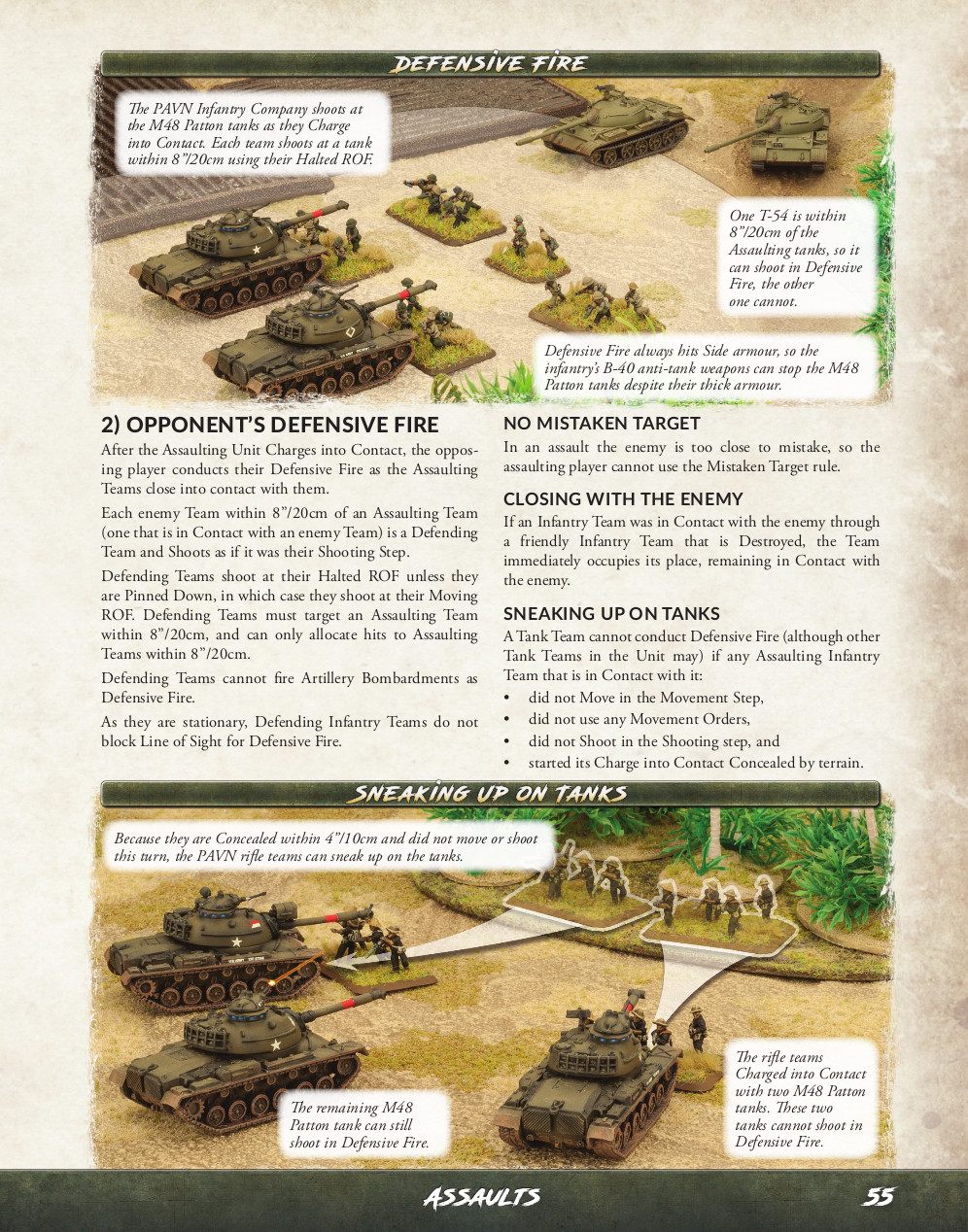 Sample Page of NAM by Flames of War and Osprey Games