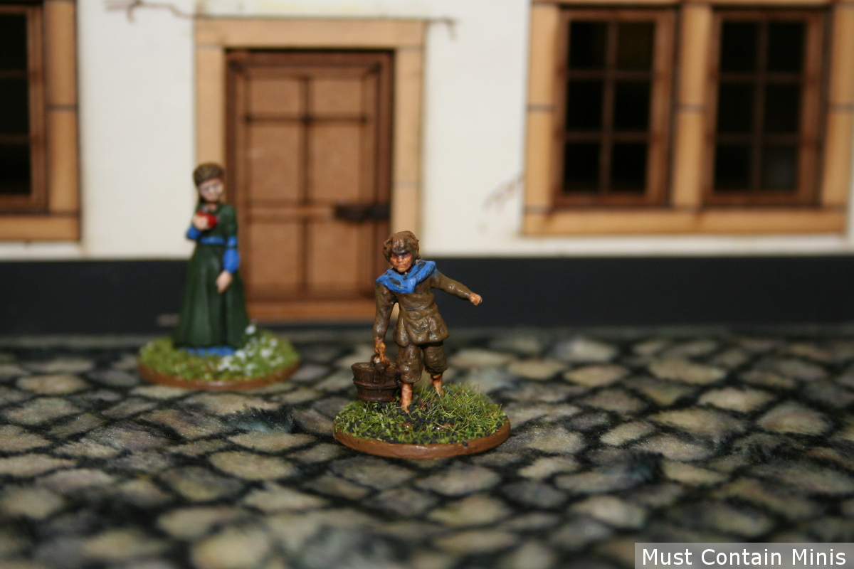 Dungeons and Dragons / Pathfinder NPC Miniatures Review of Children