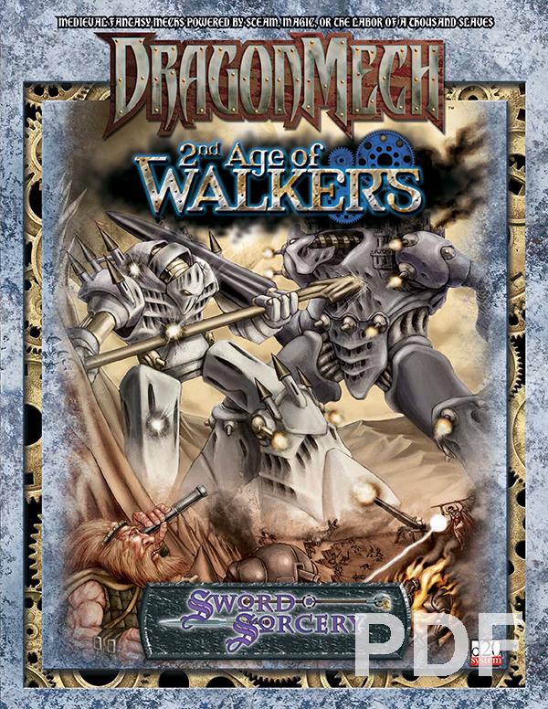 DragonMech 2nd Age of Walkers