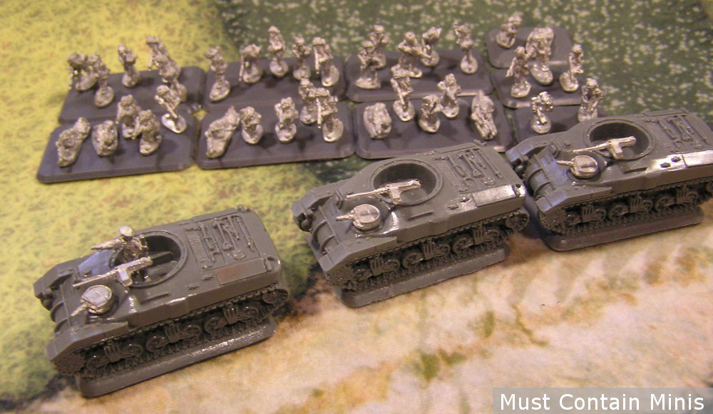 15mm Canadian Rifle Platoon for Flames of War