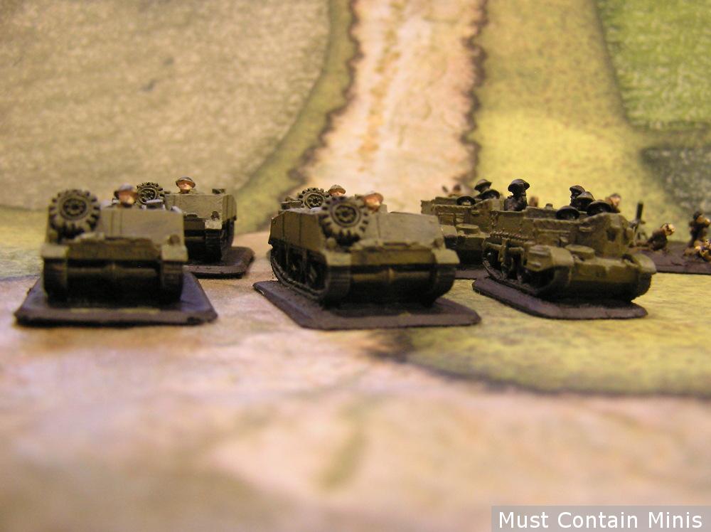 15mm Loyd Carriers Flames of War