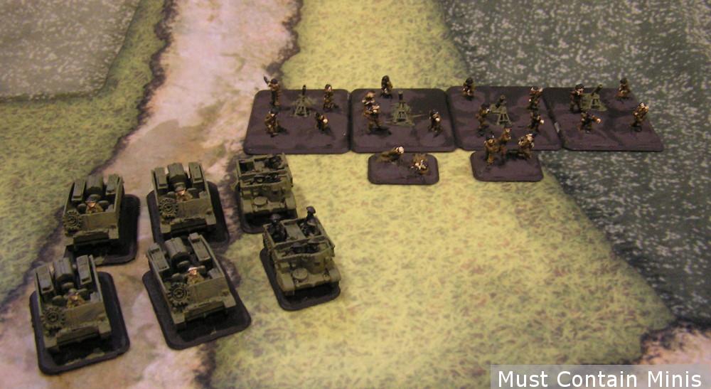 Flames of War British Heavy Mortar Platoon