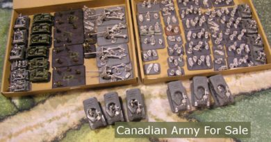 Flames of War Army - Late War Canadian Rifles