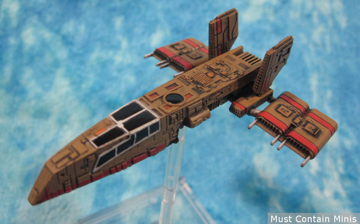 HWK-290 X-Wing Support Ship for X-wing Miniatures - Showcase article