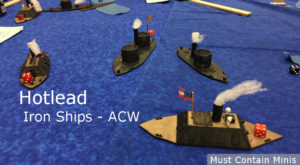 Iron Ships (American Civil War) – Hotlead Participation Game – 2018