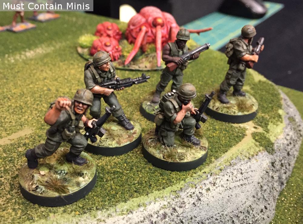 28mm Vietnam Soldiers