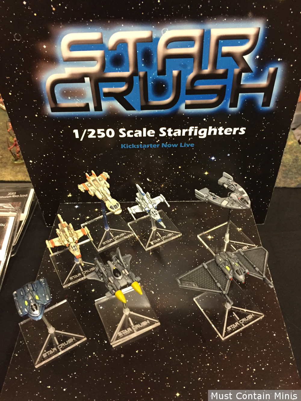 Star Crush the space combat miniatures game