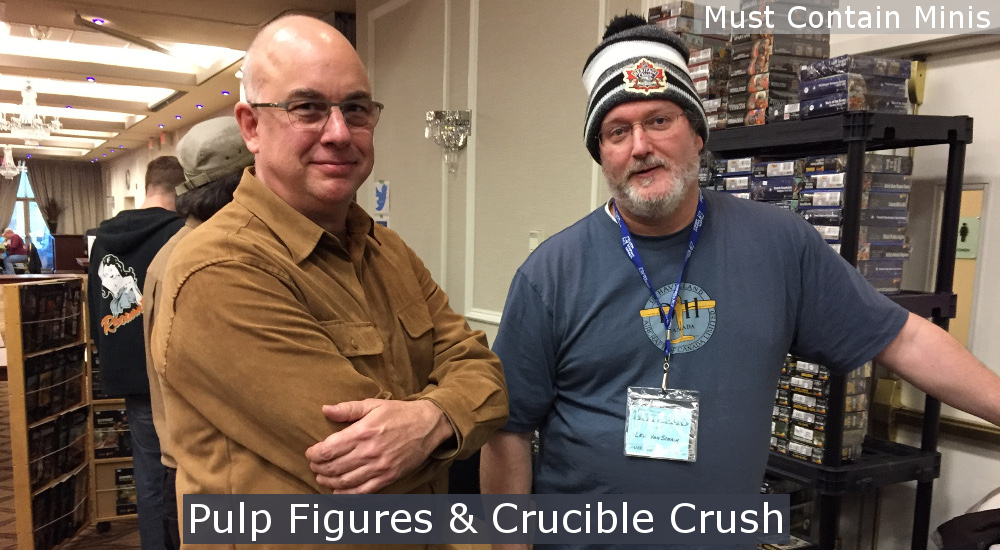 Pulp Figures and Crucible Crush