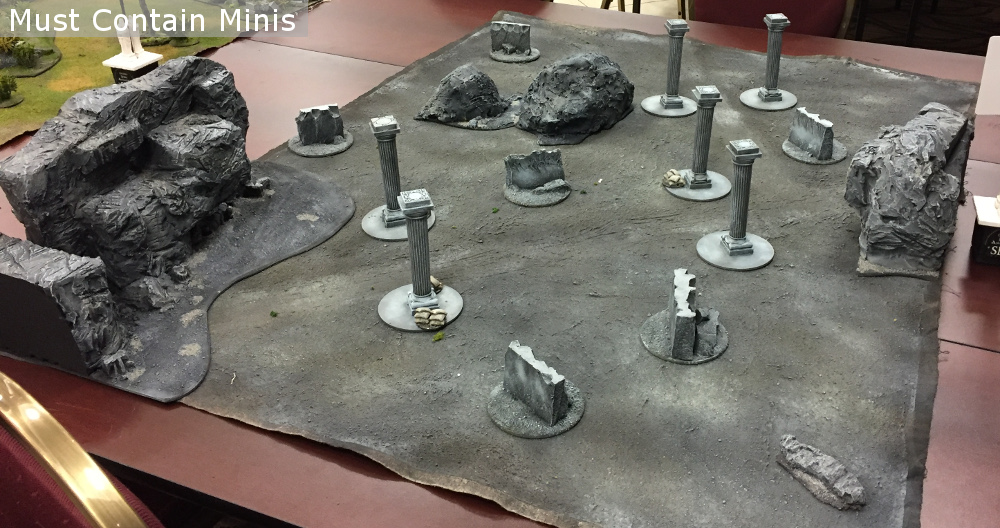 Hobbit and Frostgrave Miniature Wargame Terrain