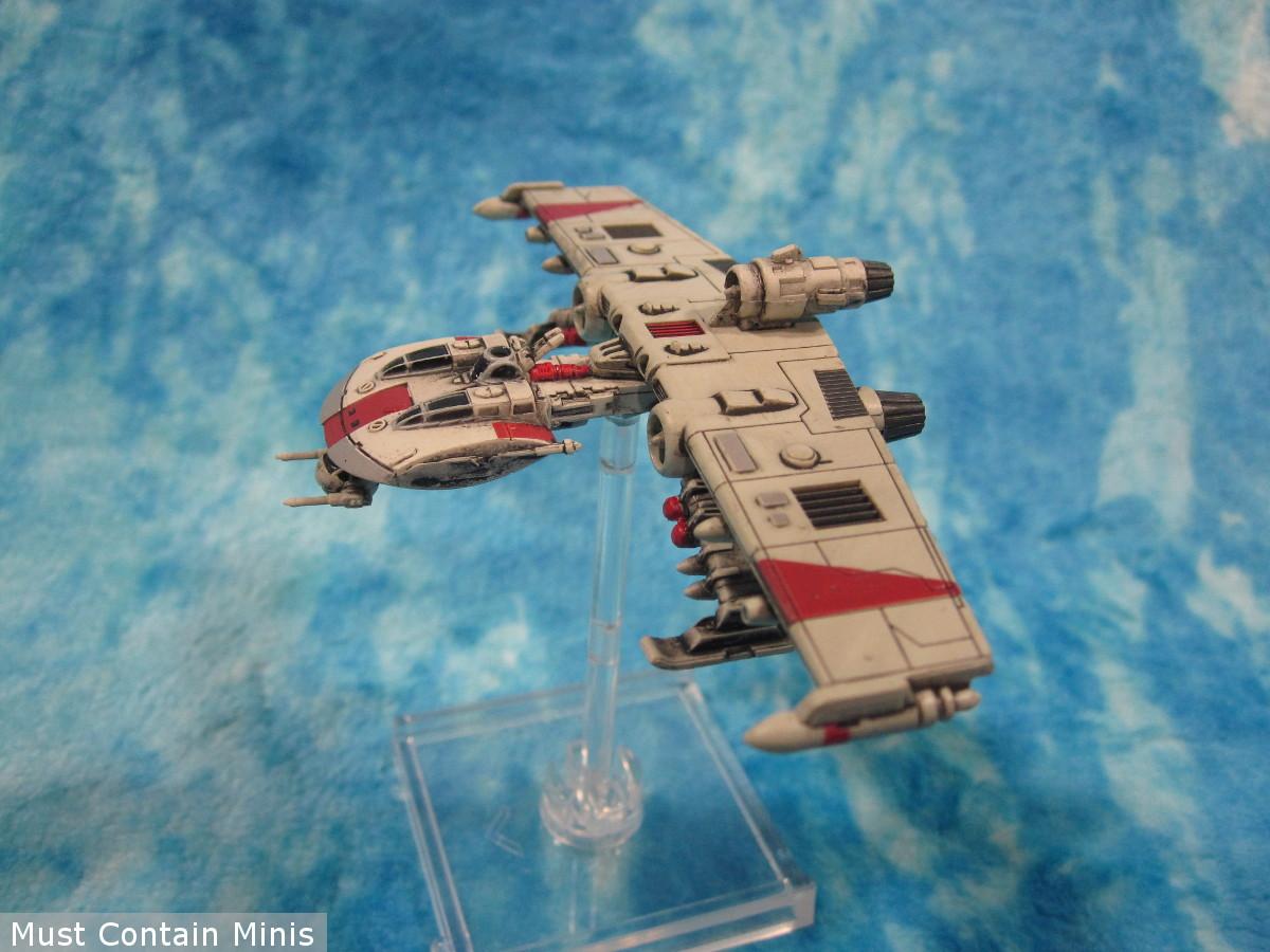 K-Wing Miniature - Side profile