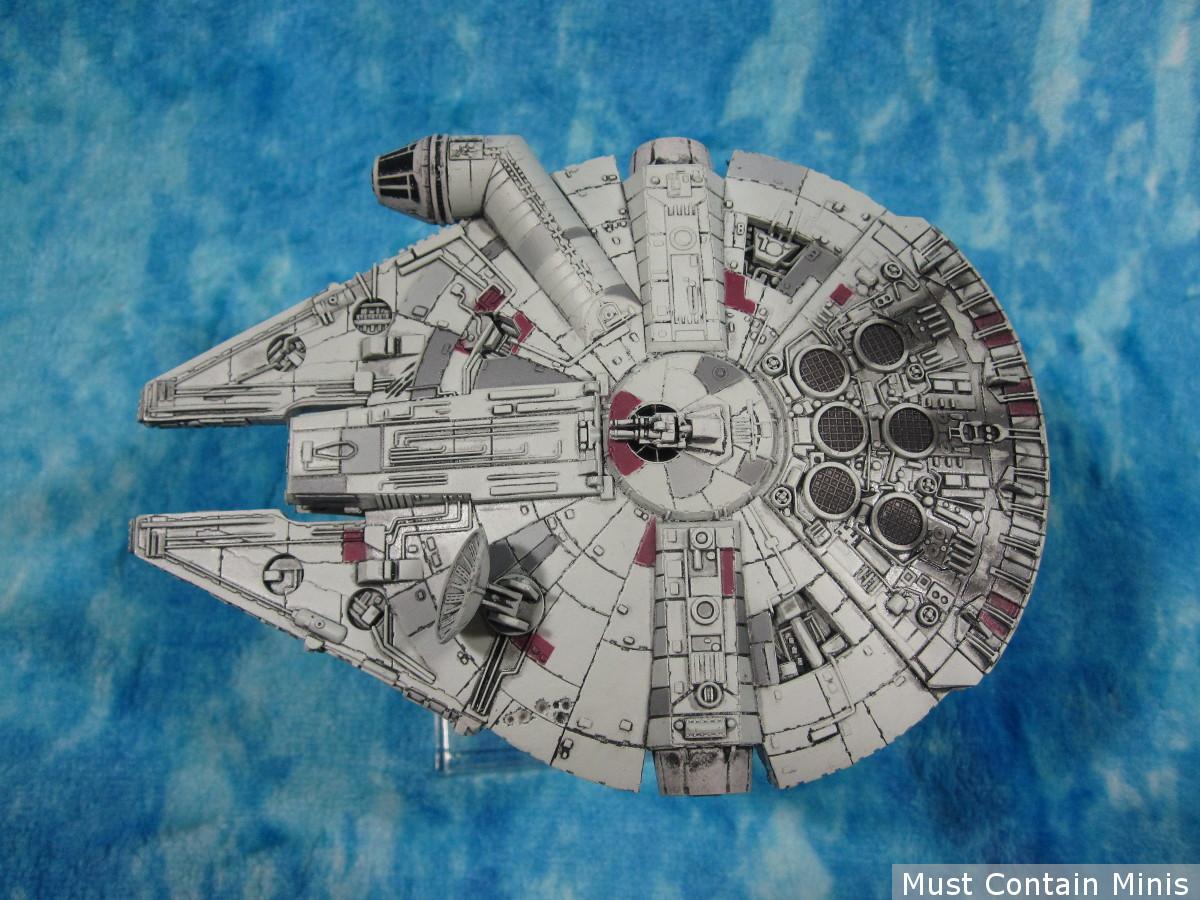 Millennium Falcon X-Wing Miniature - Showcase article