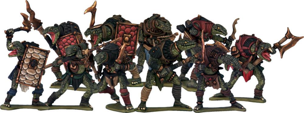 Frostgrave: Ghost Archipelago: Lost Colossus Snakemen