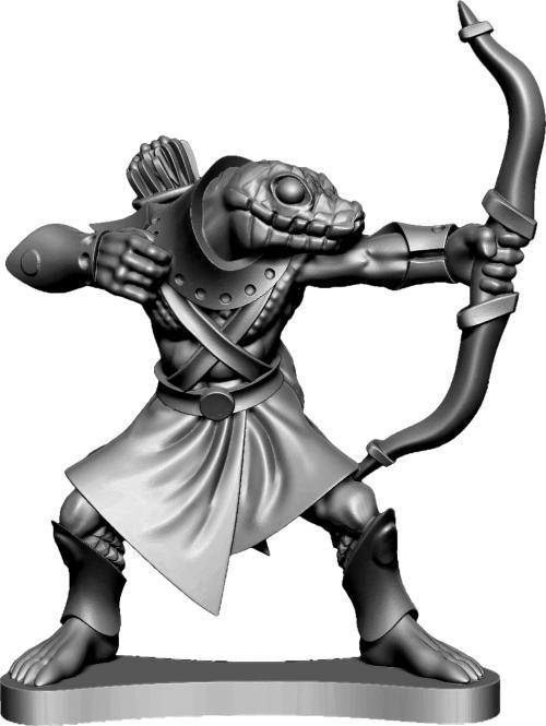 Snakeman Bowman Warrior