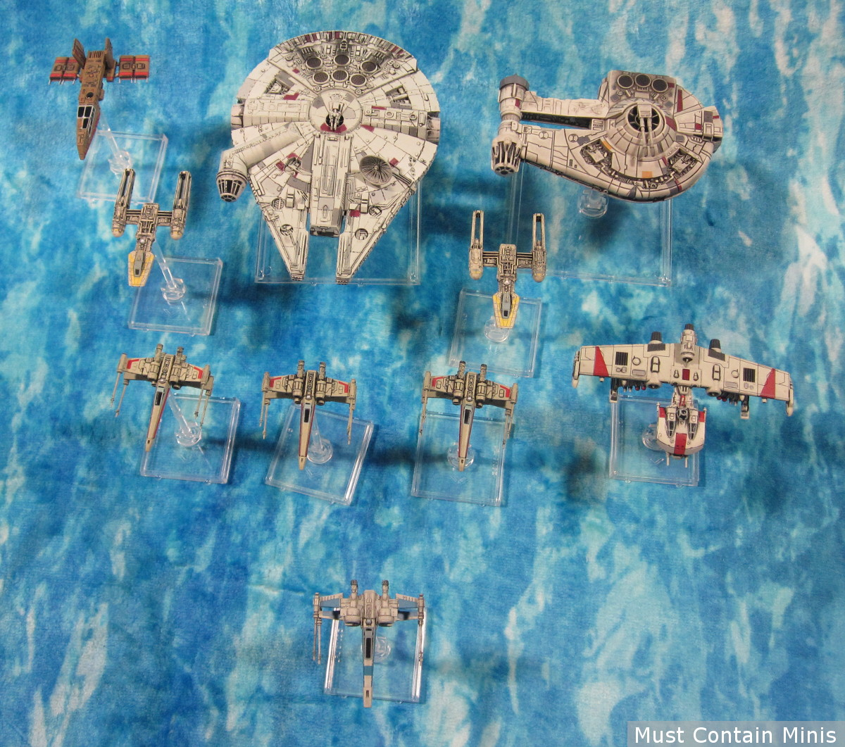X-Wing Miniatures Rebel Forces - Showcase article