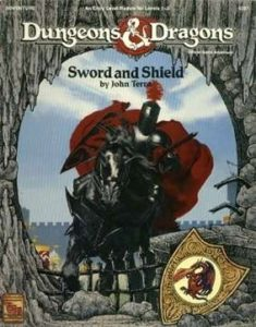 Dungeons and Dragons Sword and Shield