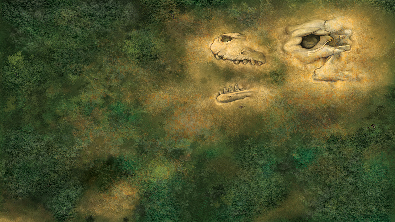 Time Nomad Fantasy Gaming Mat by Hot Dice Miniatures