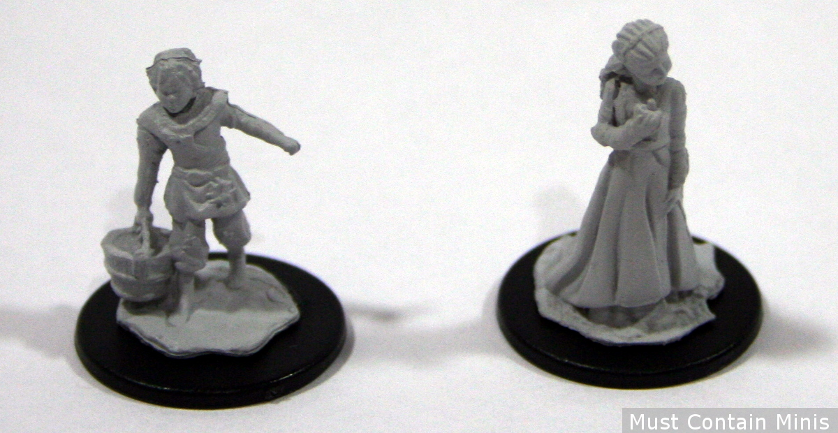 28mm Children Miniatures by WizKids