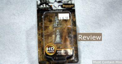 WizKids Unpainted Children Pathfinder Miniature Review