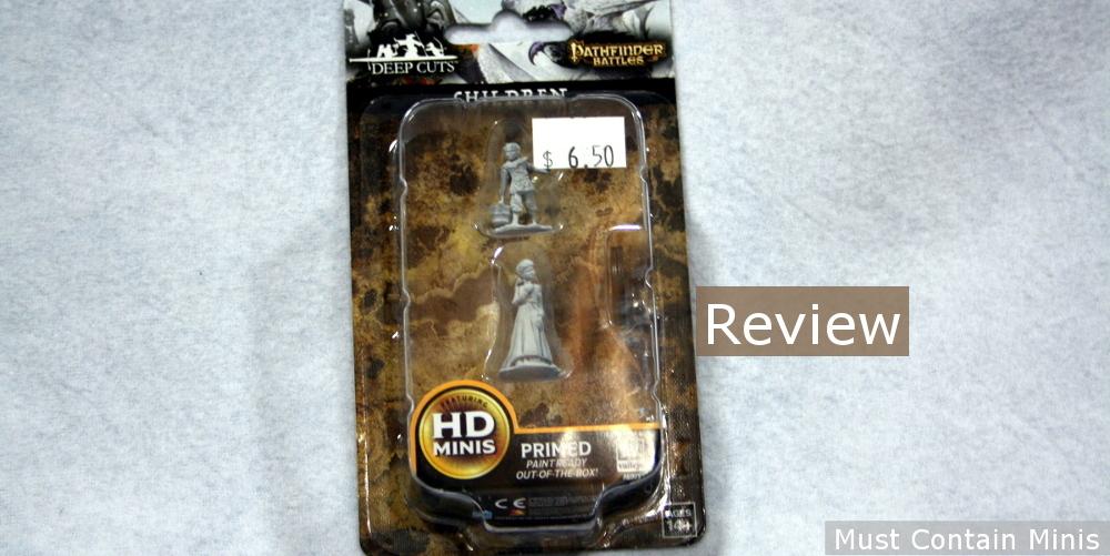 Review: Pathfinder Deep Cuts Children by WizKids – 28mm