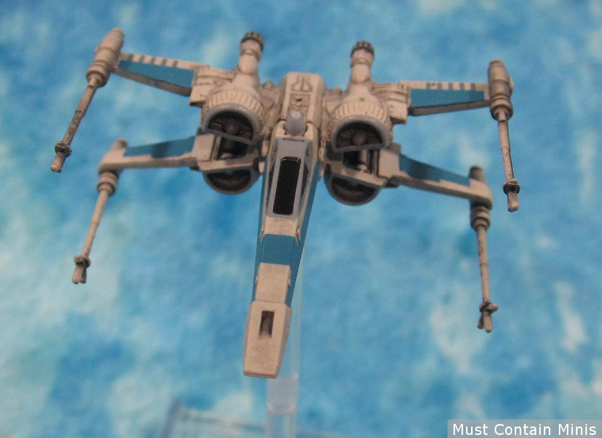 Star Wars X-Wing T-70 Miniature Showcase - Model by Fantasy Flight Games