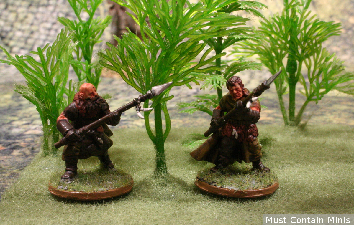 Frostgrave Ghost Archipelago scratch built Jungle Terrain 28mm