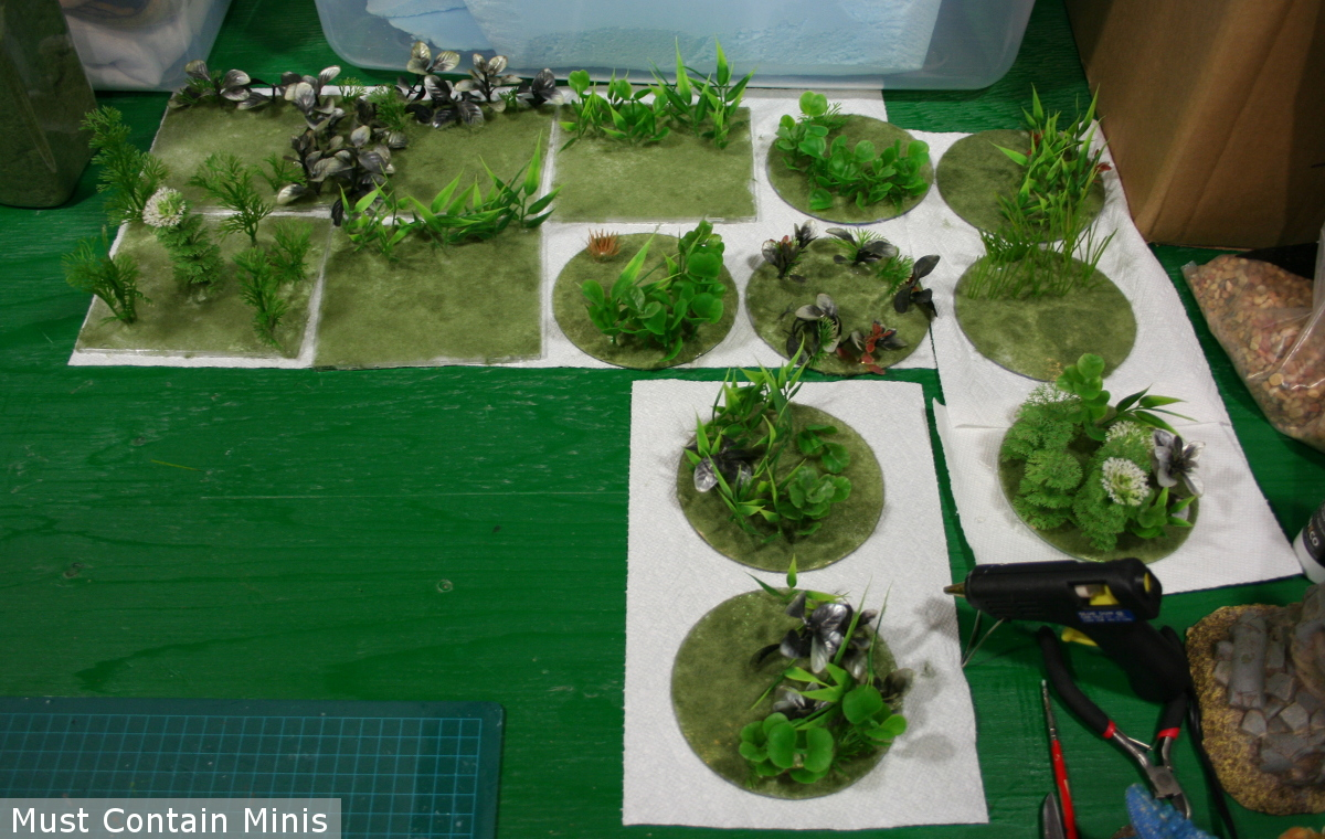 Scratch built Jungle Terrain