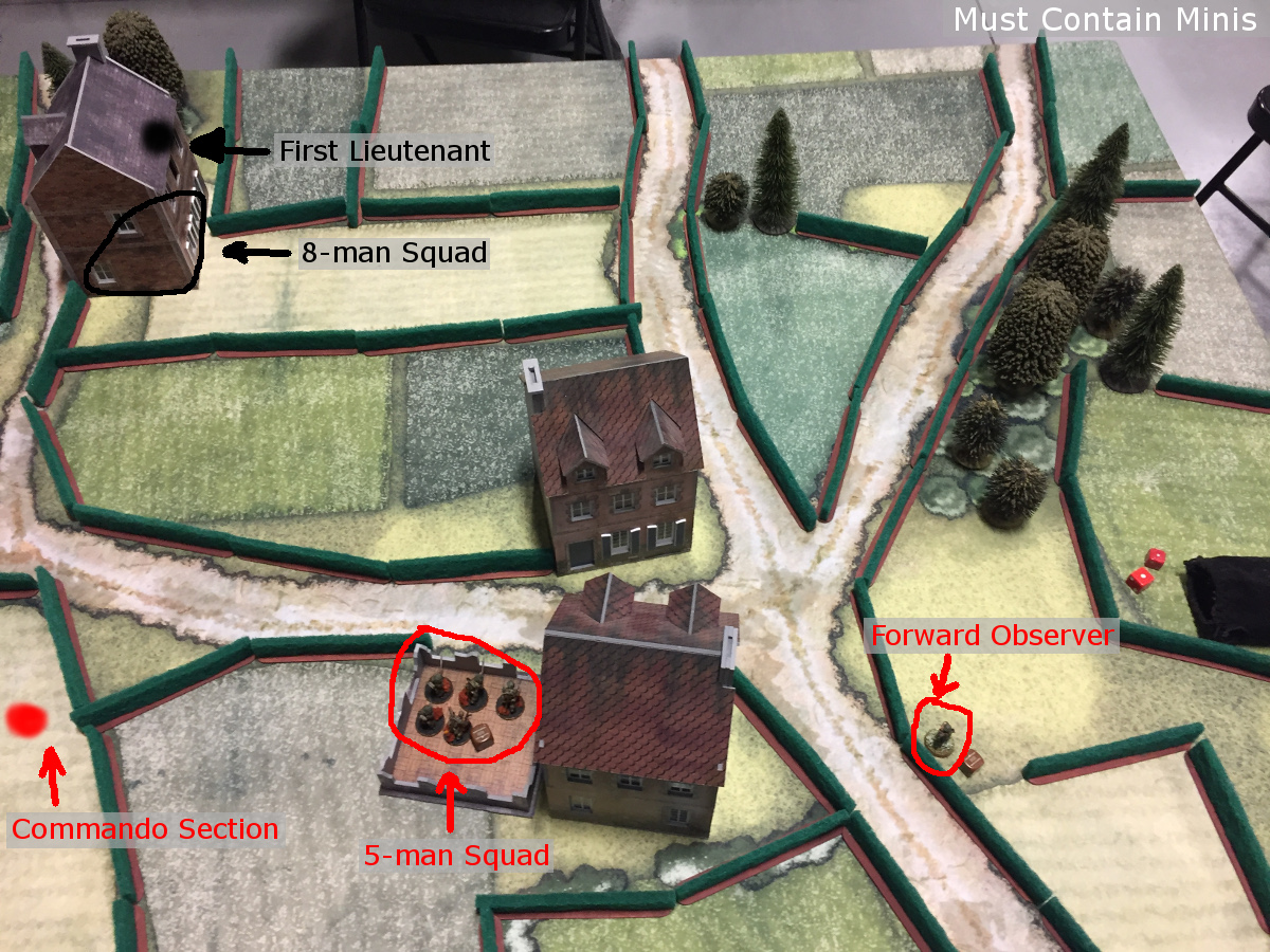 600 Point Meeting Engagement Deployment in Bolt Action