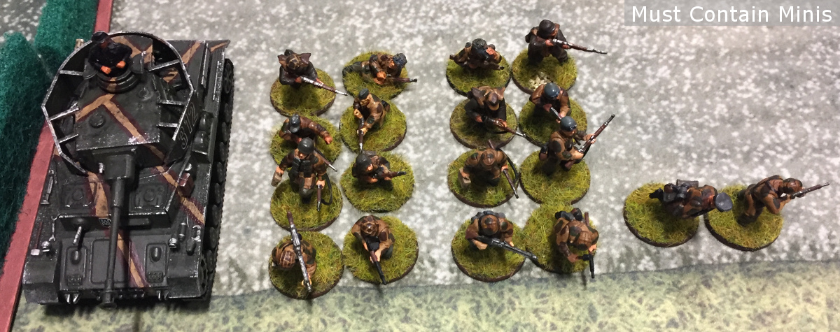 Bolt Action German 600 point army