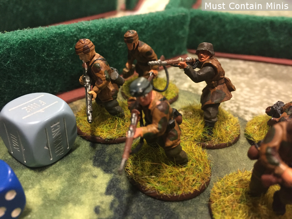 Painted German Infantry for Bolt Action