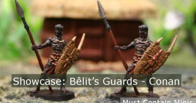 Bêlit's Guards Miniature Showcase for Conan Board Game