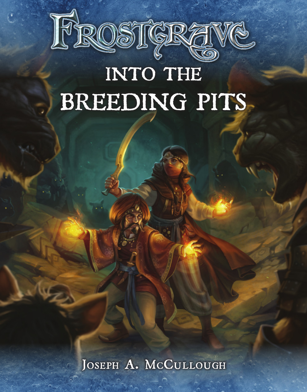 Frostgrave: Into the Breeding Pits Cover