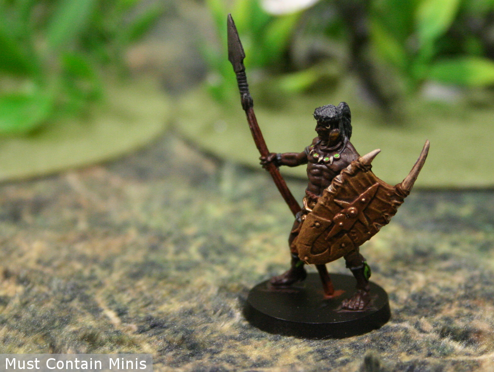 A Miniature of one of Belit's guards