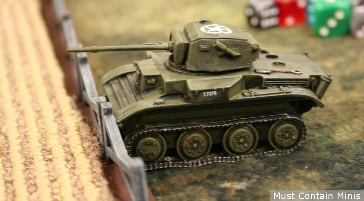 An American Chaffee Tank - Bolt Action
