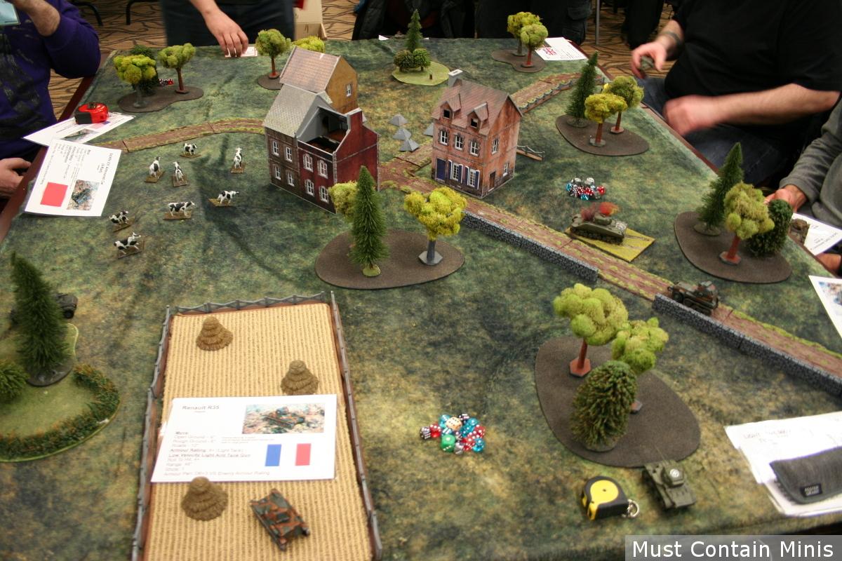Bolt Action Tank War Demo Battle Report
