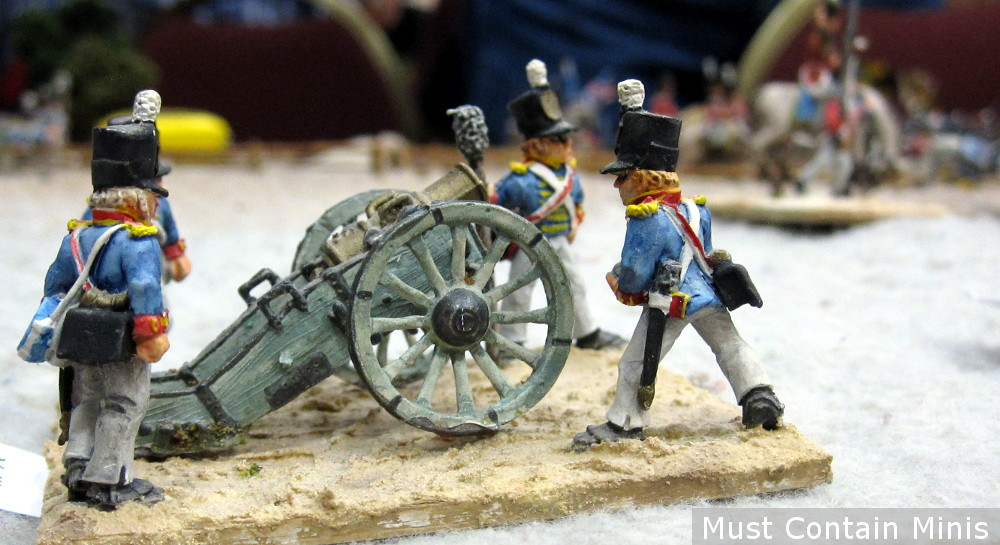 A British Howitzer during the war of 1812