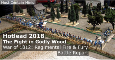 Fire & Fury War of 1812 Battle Report - British vs Americans Baltimore
