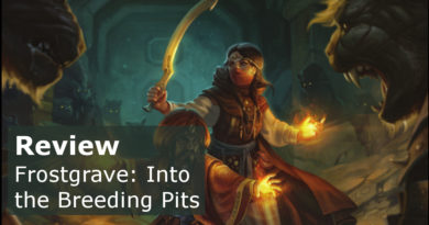 Review of Frostgrave Into the Breeding Pits