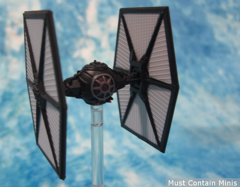 The TIE/Fo Fighter Miniature from X-Wing Miniatures Game - Showcase picture