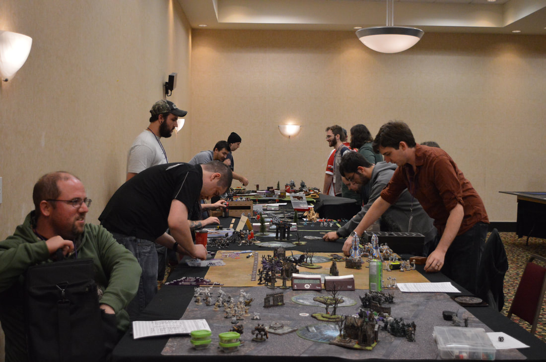 Miniatures Games at SkyCon 2017