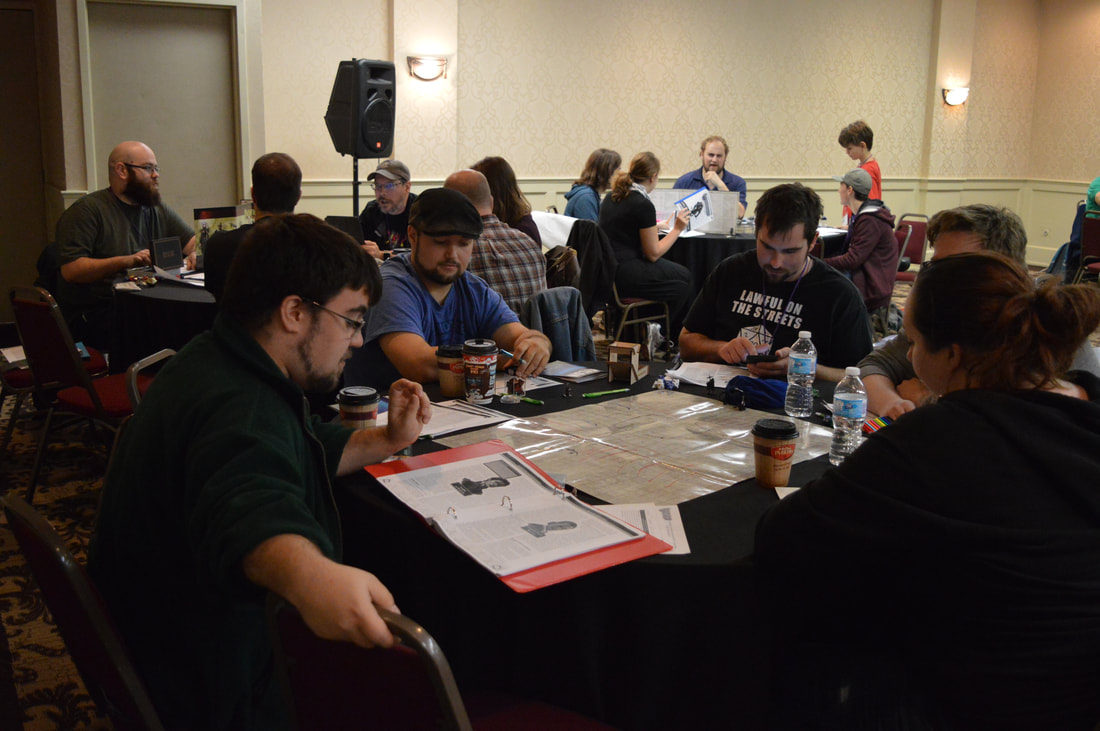 Role Playing Games at SkyCon 2017 in Kitchener Ontario Canada - Gaming Convention