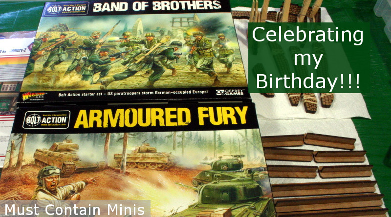 Building Bolt Action Starter Boxes in Celebration of my Birthday