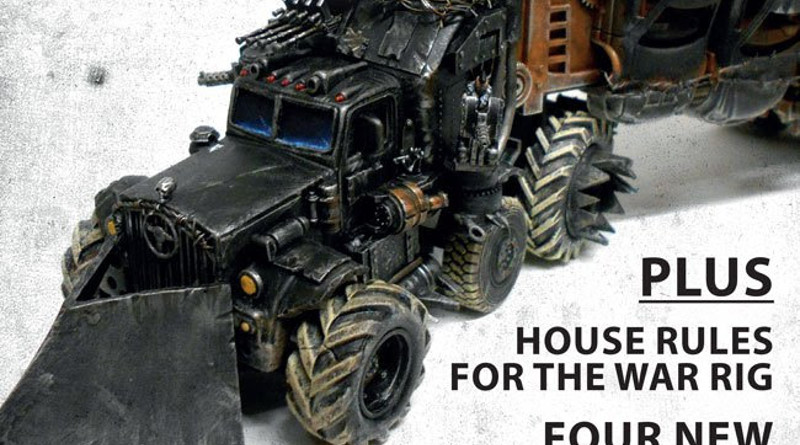 Free Gaslands expansion - image from cover of the magazine