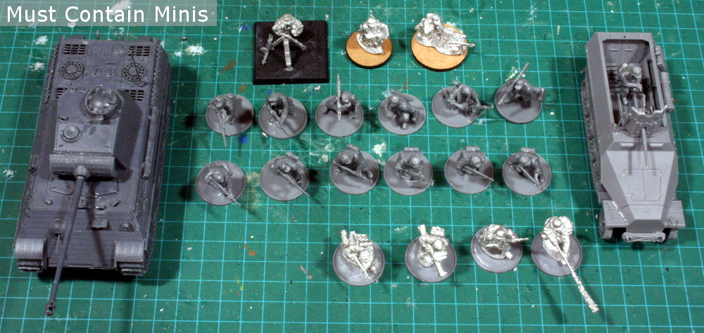 Bolt Action German Army using the 2-player Starter boxes