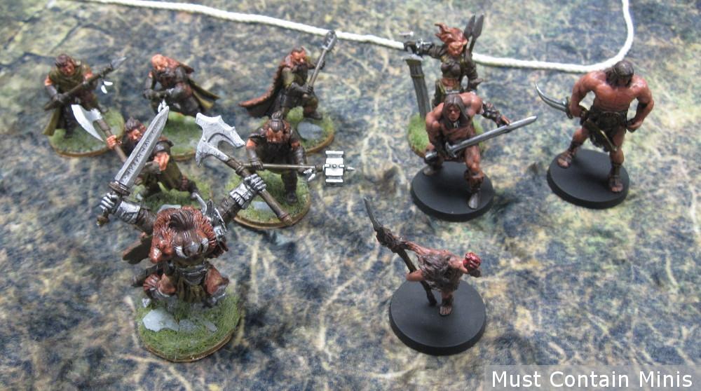 Barbarian Crew in Frostgrave Ghost Archipelago